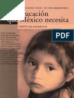 La Educación Que México Necesita