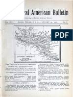 Central American Bulletin - Vol. 12 - No. 1 - January 1906