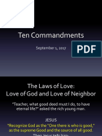 10 Commandments Lesson