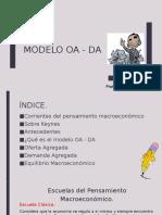 4.5 Modelo OA - DA