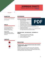 dominiquepishotti resume