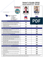 2010 Voters Guide District 21