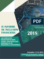 IV Reporte de Inclusion Financiera FELABAN - Nov2018