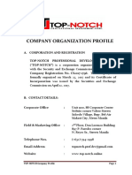 1.Top-notch Company Profile
