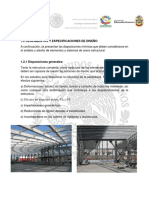 1.2 Reglamentos y Especificaciones de Diseño