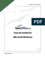 OpenOffice Guía de Instalación (Español)