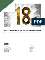ANSYS Mechanical APDL Basic Analysis Guide2018.pdf