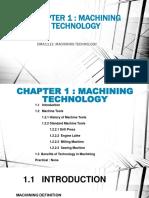 pengenalan teknology pemesinan