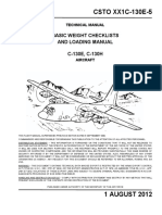 XX1C-130E-5    BASIC WEIGHT CHECKLISTS AND LOADING MANUAL HERCULES C-130