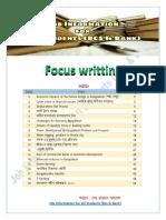 Focus Writting