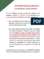 Delitos de Martin Vizcarra Cornejo