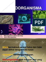 3.1 Mikroorganisma Benda Hidup