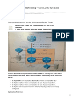 Ccnav6.Com-DHCP Sim Troubleshooting CCNA 200-125 Labs Simulator