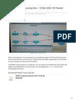 Ccnav6.Com-EIGRP Troubleshooting Sim CCNA 200-125 Packet Tracer PKA