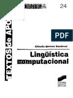 Lingüística Computacional - Antonio Moreno Sandoval-FREELIBROS.org