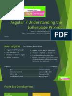 Angular 7 Boilerplate tutorial