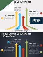 Four Curved Arrows