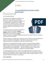 ConJur - Entrevista_ Augusto Barbosa, Defensor e Presidente Da Apadep