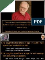Warren Buffet's Policies