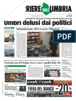 Rassegna stampa del 28 di gennaio 2019 nazionale ed umbra