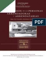 DERECHOS DE LAS PERSONAS ARRENDADORAS
