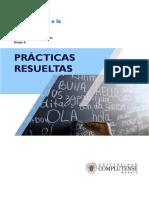 Prácticas completas (resueltas) - Introducción a la Lingüística