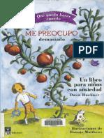 Me preocupo demasiado, un libro para niños con ansiedad-Dawn Huebner.pdf