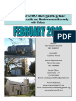 News February 2019 - Parishes of Newcastle & Newtownmountkennedy with Calary, in east Co. Wicklow
