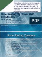 Understanding SQL Server 2005 Report Builder