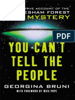 Georgina Bruni - You Can't Tell the People - The Cover-Up of Britain's Roswell