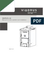 Viadrus U22 Upute Za Ugradnju i Korištenje