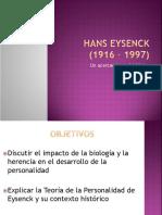 Teoría de Hans Eysenck del desarrollo de la personalidad