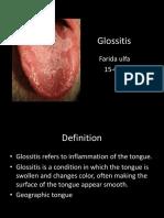 Glossitis