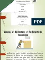 Presentación1- Segunda Ley Newton.