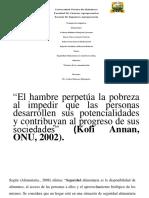Presentación1- Seguridad Alimentaria America Latina