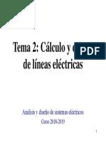 Tema 2  Cálculo y diseño de líneas eléctricas.pdf