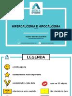 Hipercalcemia e hipocalcemia Nefrolitíase