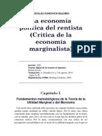 Nikolai Bujarin - Economía Política Del Rentista (Crítica de La Economía Marginalista)