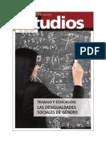 Estudio103_Trabajo y Educacion_Las Desigualdades Sociales de Genero