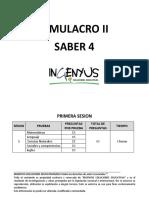 SIMULACRO II CUARTO.docx