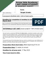 gcse exam prep booklet 2019