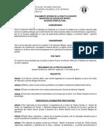Reglamento Interno de La Practica Docente 2015