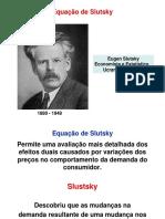 Equação de Slutsky