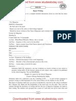 CBSE Class 12 English Report Writing