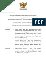 PMK No. 49 Th 2018 Ttg Penetapan Dan Perubahan Penggolongan Psikotropika