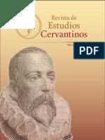 Revista Estudios Cervantinos Julio Octubre 2018