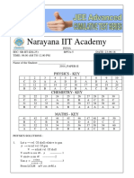 Sr Iit Iz_l25_ Jee Advanced 2014 p2 Key Hints and Solutions