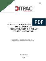 Manual Biossegurança Da Clínica de Odontologia 2015