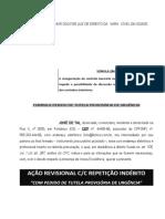 Acao Revisional Cadeia de Contratos Confissao Divida