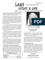 The Rosary, Light & Life - Rosary Confraternity Newsletter - Vol.59n6